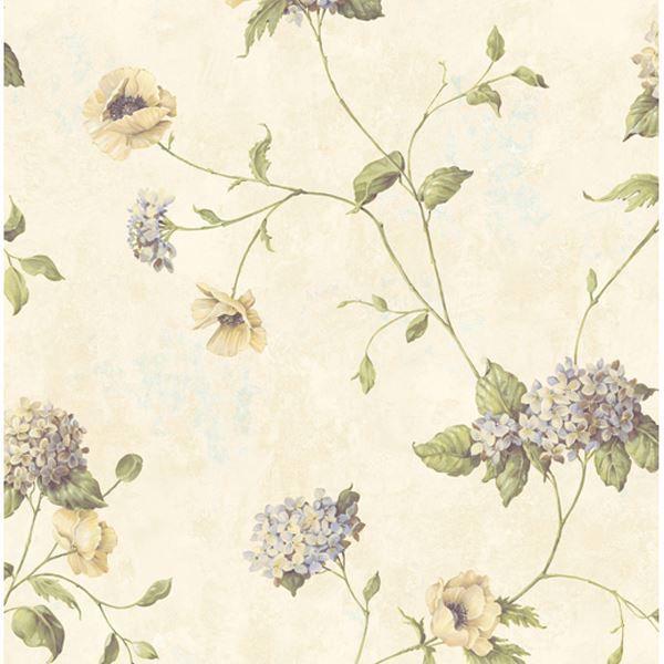Henrietta Yellow Hydrangea Floral Trail