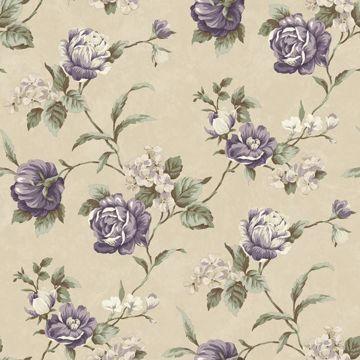 Gleason Grey Floral Rose Trail