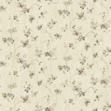 Virginia Grey Floral Vine