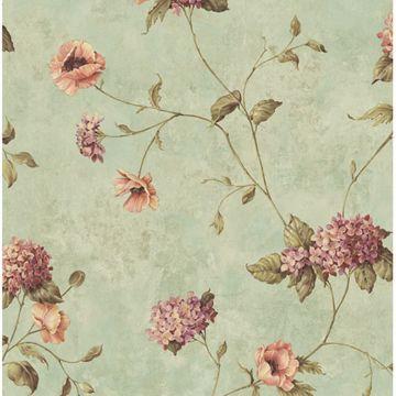 Henrietta Blue Hydrangea Floral Trail