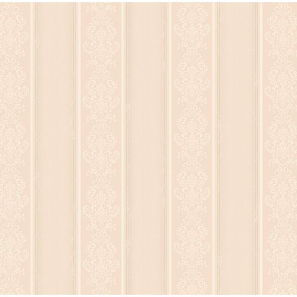 Arabelle Rose Damask Stripe