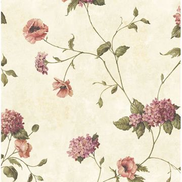 Henrietta Pink Hydrangea Floral Trail