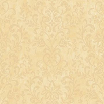 Yellow Country Damask