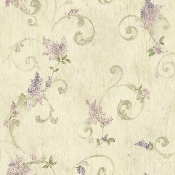 Neutral Lilac Acanthus