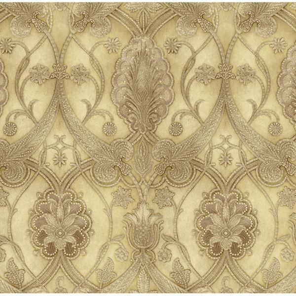 Art25065 Yellow Elisabetta Damask Wallpaper Art Amp Texture Vol Ii By Chesapeake
