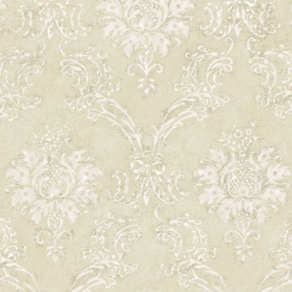Beige Devon Damask