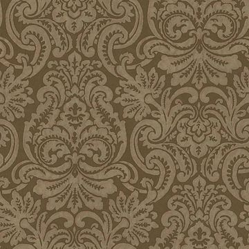 Brown Dante Damask