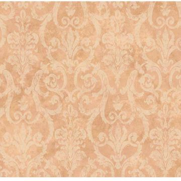Orange Tearose Damask