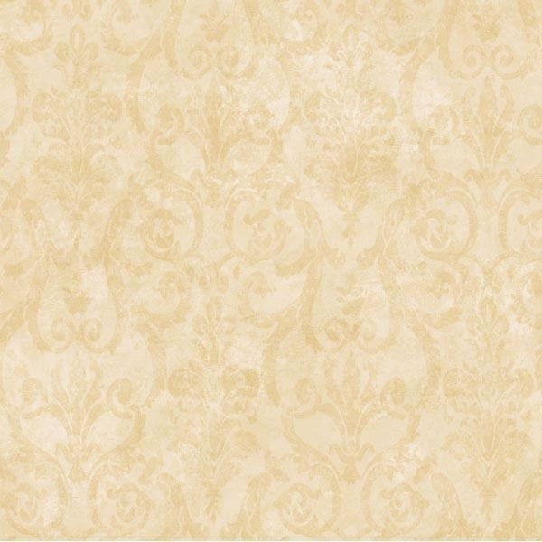 Beige Tearose Damask