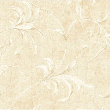 White Ogee Acanthus Scroll
