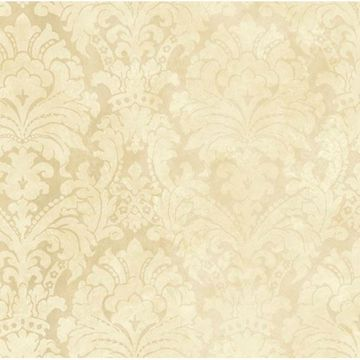 Brown Palace Damask