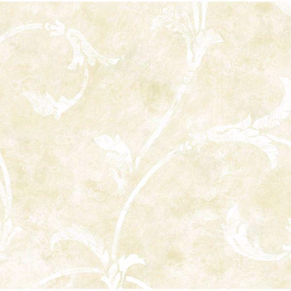 White Silver Scroll