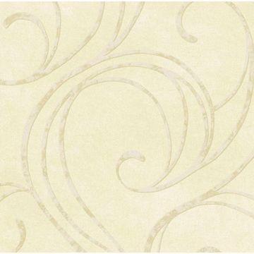 Cream Velvet Swirls