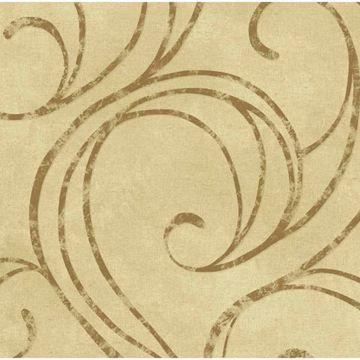 Yellow Velvet Swirls