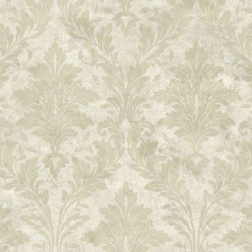 Beige Avalon Damask