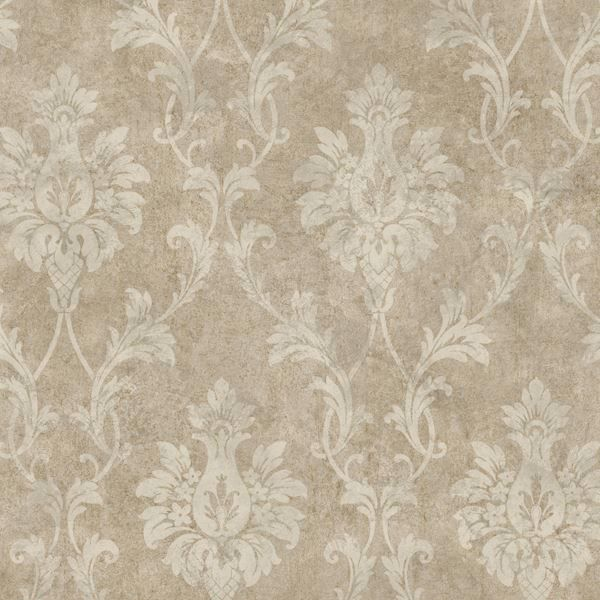 Cream Pineapple Damask