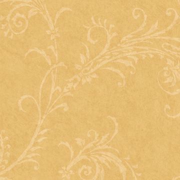 Yellow Rice Paper Scroll