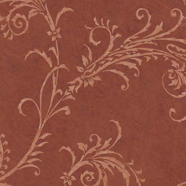 Red Rice Paper Scroll