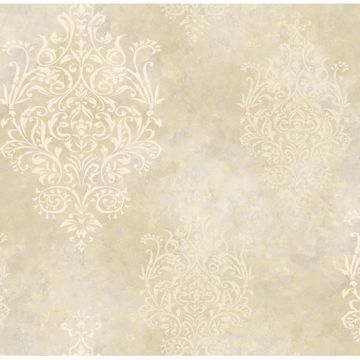 Beige Mulberry Medallion