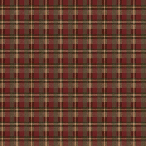 Larry Red Traditional Tartan