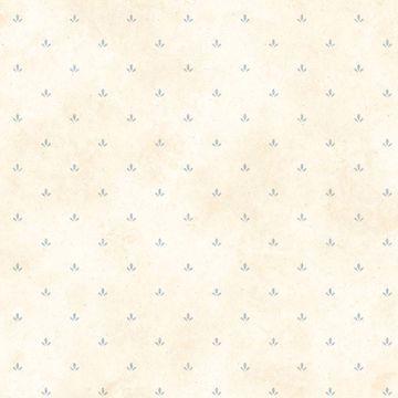 Butters Cream Paw Print Toss