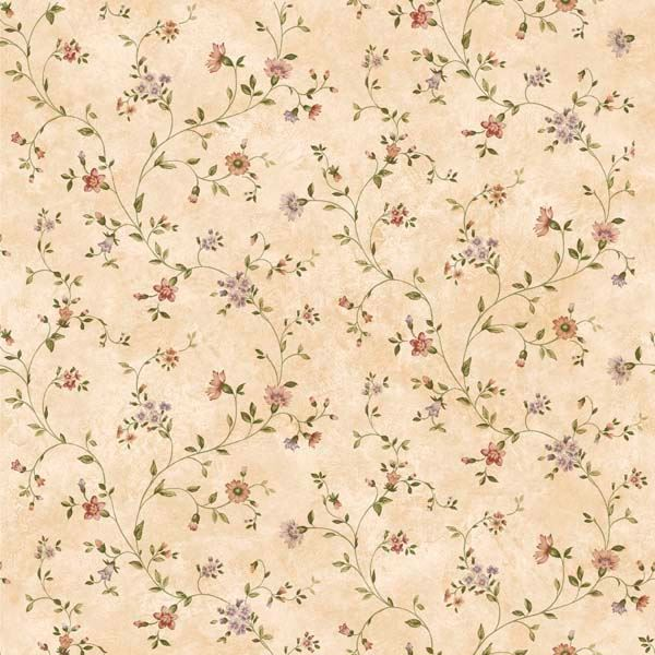 Ira Sand Antique Floral Scroll