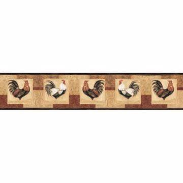 Jack Sand Rooster Panels Border