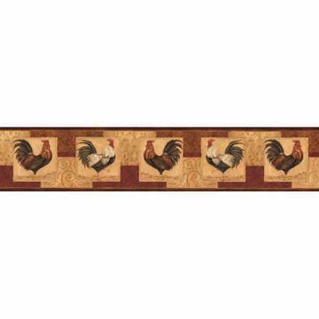 Jack Bronze Rooster Panels Border