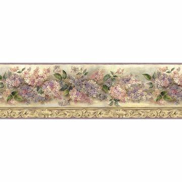 Mildred Purple Heirloom Lilac Border