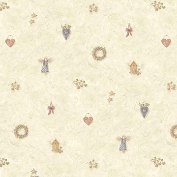 Maria Grey Angel & Wreath Toss
