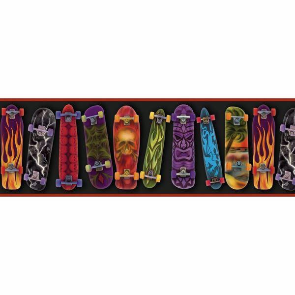 Gerry Black Skateboards Portrait Border