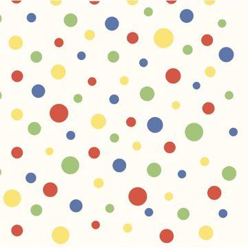 Circus Blue Polka Dot