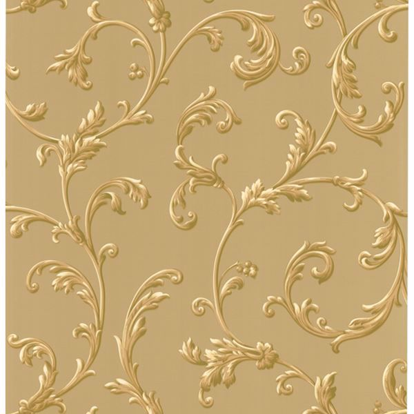 Sylvia Gold Ornate Scroll