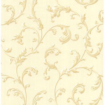 Sylvia Cream Ornate Scroll