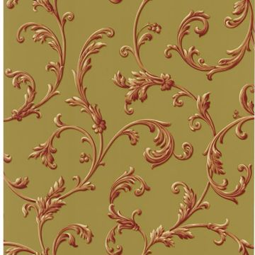 Sylvia Rust Ornate Scroll