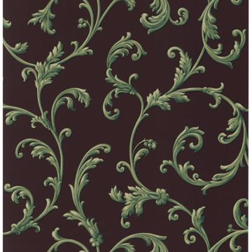Sylvia Black Ornate Scroll