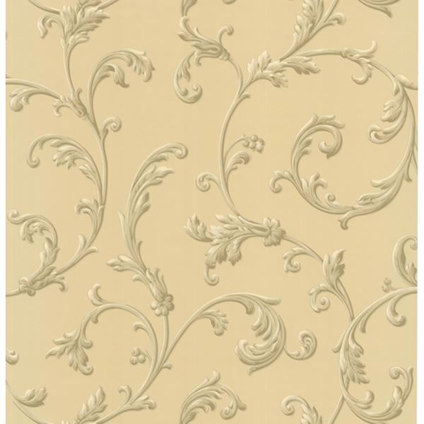 Sylvia Sand Ornate Scroll