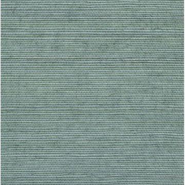 Aubrey Blue Grasscloth