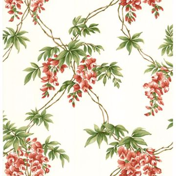 Annabelle Red Floral Toile