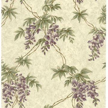 Annabelle Purple Floral Toile