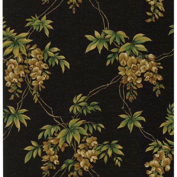 Annabelle Black Floral Toile