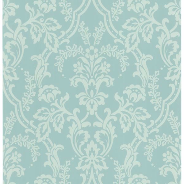 Andrea Blue Ornate Ogee