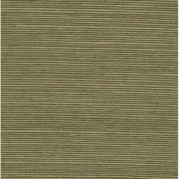 Aubrey Green Grasscloth