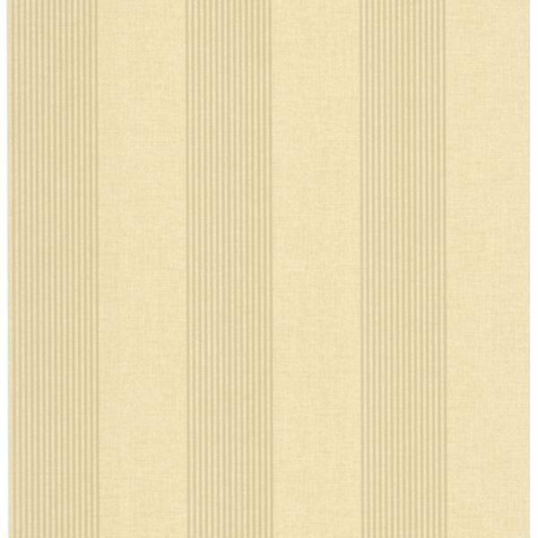 Christine Taupe Alternating Stripe