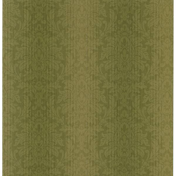 Alex Green Damask Stripe