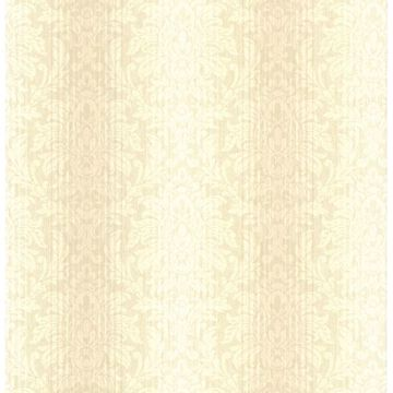 Alex Beige Damask Stripe