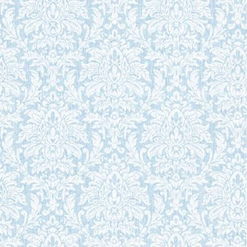 Morgan Blue Transparent Damask