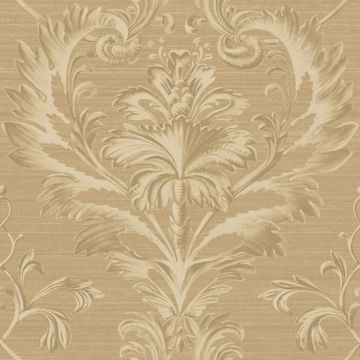 Tangler Brown Brilliant Damask