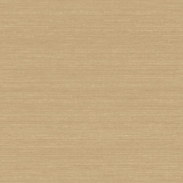 Acanthus Brown Faux Silk Fabric