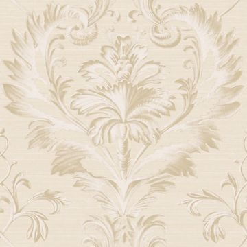 Tangler Silver Brilliant Acanthus Damask